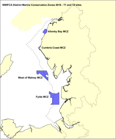 Marine Conservation Zones in the District