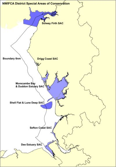 Special Areas of Conservation in the District.