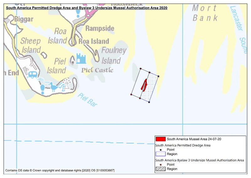 South America Dredge and Handgathering Area